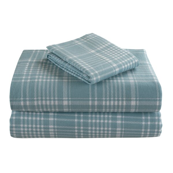 Geoffroy 4 Piece 100% Cotton Sheet Set by The Twillery Co.